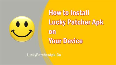 how to install apk how to install lucky patcher apk on your device androidnews us
