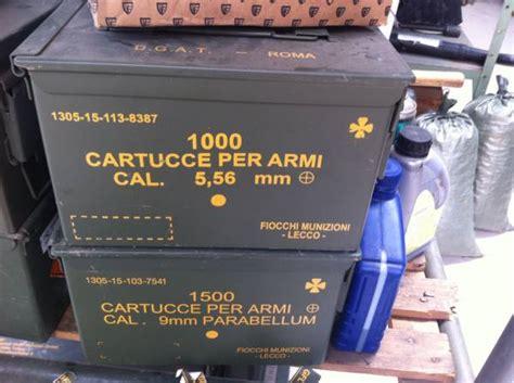 cassetta portamunizioni cassetta portamunizioni in metallo marca