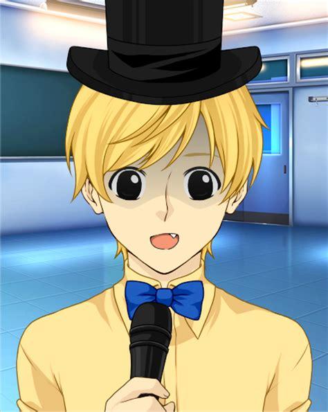 golden anime human freddy golden freddy human by inuyashagamer on deviantart