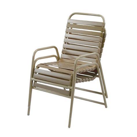 vinyl dining chair aluminum frame st maarten