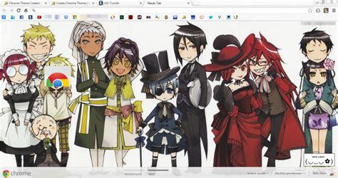 google theme kuroshitsuji characters kuroshitsuji black butler chrome theme