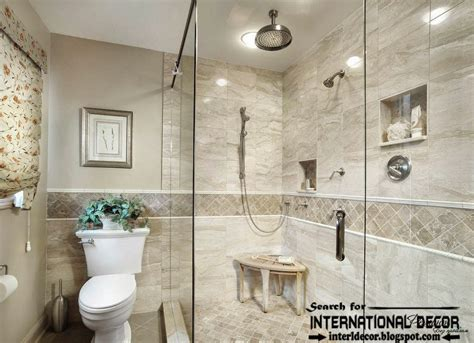 cool ideas  pictures custom bathroom tile designs