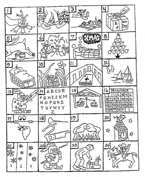 free printable christmas song games can you guess the christmas songs from the pictures flickr