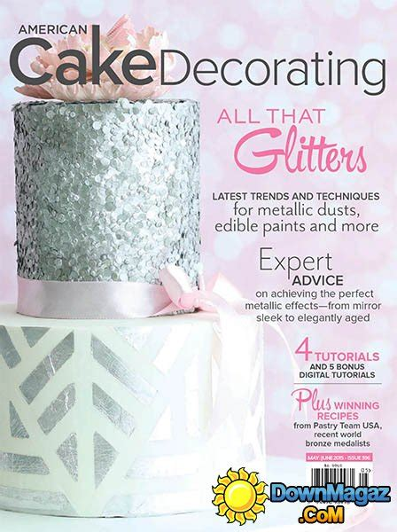 American Cake Decorating Magazine by American Cake Decorating May June 2015 187 Pdf