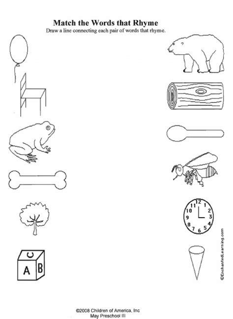 Resume Rhyming Words Uncategorized Rhyming Worksheets Kindergarten