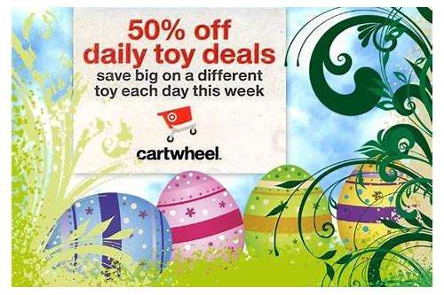 cartwheel toy deals this week