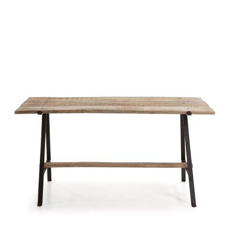 table salle a manger bois et fer table salle a manger fer et bois maison design bahbe