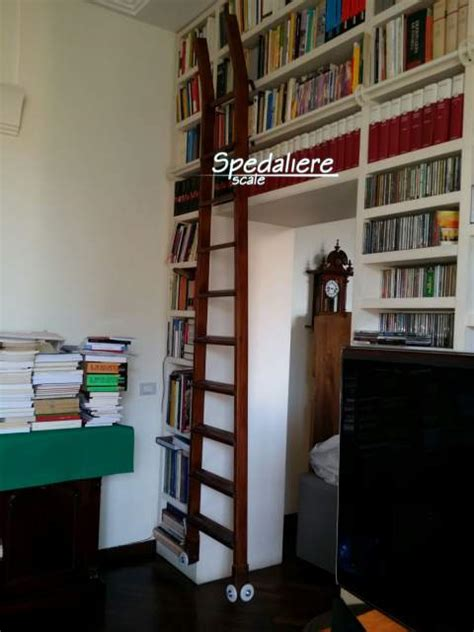 scale per librerie scala scorrevole per librerie archivi a mercato