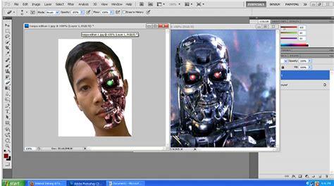 tutorial edit foto wajah photoshop tutorial edit foto menjadi terminator