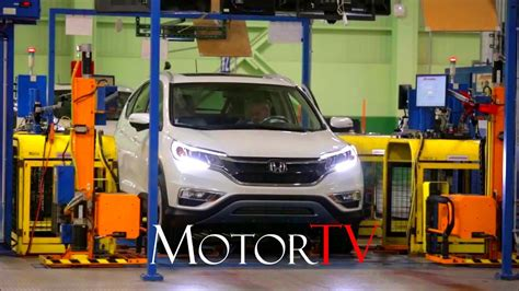 Honda Cr V Production by Car Factory Honda Cr V Production L Assembly Line