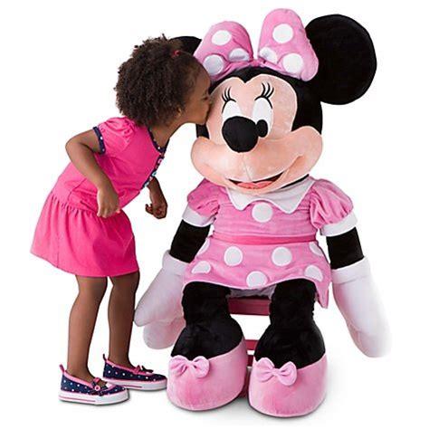 Boneka Micky Mouseminnie Mouse Jumbo disney store 42 minnie mouse plush large