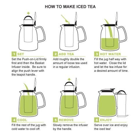 how to use tea bags mist ice tea jug with basket infuser 62 50 den s tea