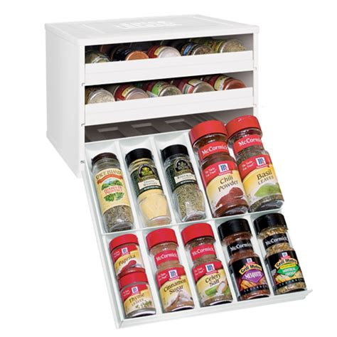 Clubhouse Spice Rack by Chef S Edition Spicestack Spice Organizer Youcopia