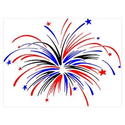 fireworks clipart cartoon pencil and in color fireworks