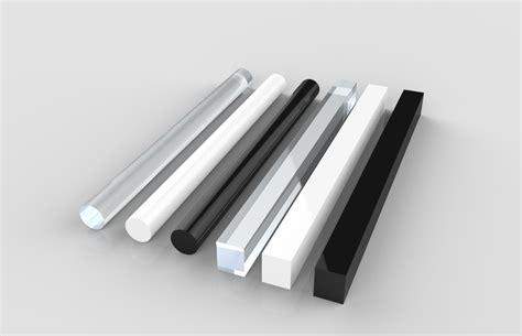 corrimano in plexiglass barre plexiglass metacrilato trasparente vendita materie