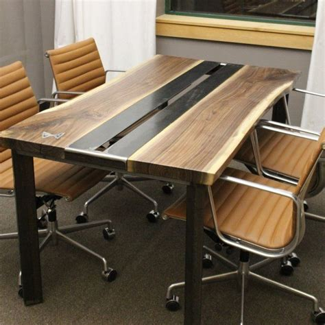 Live Edge Conference Table 118 Best Images About Dining Furniture On Barnwood Dining Table Pedestal And