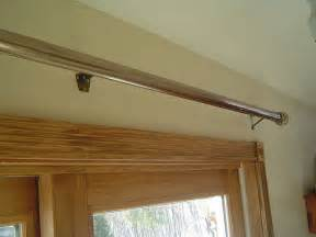 installing curtain rod sliding glass door