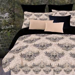 skull bedding for boys or king