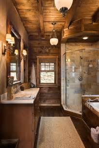 Master bath monday brings you this elegant bath from log homes of