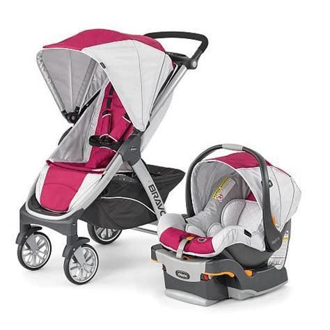 stroller with car seat babies r us chicco bravo trio travel system stroller orchid chicco