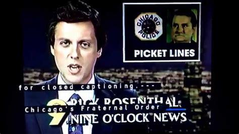 nine oclock news wgn 9 nine o clock news open november 1989