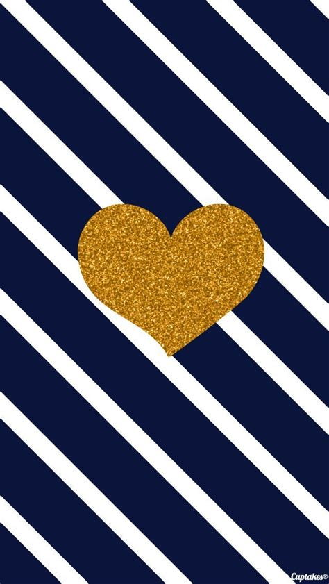 wallpaper gold hearts tap and get the free app pattern stripes dark blue