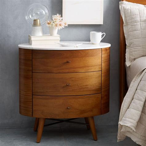 best bedside table penelope 3 drawer bedside table west elm au