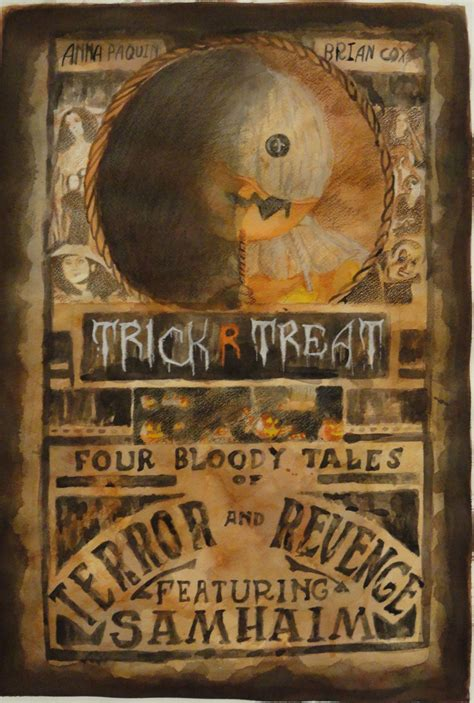 Trick Or Treat Graphic 7 Original Oceanseven trick r treat poster by kurios on deviantart
