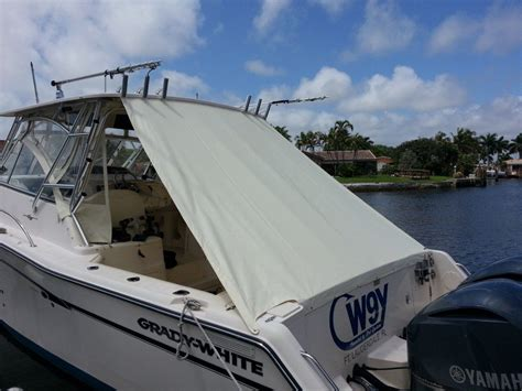 layout boat cover cockpit covers blue water canvas upholstery of pompano