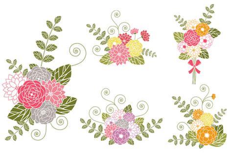 cornici per etichette floral bouquet cliparts free clip free