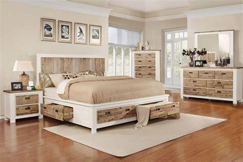 western  piece king bedroom set   led tv  gardner white