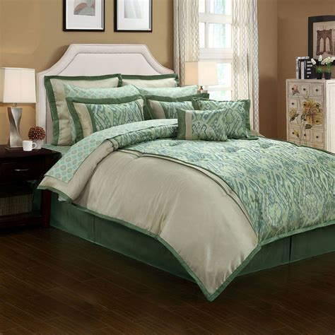 jcpenney topaz ikat 12 pc complete bedding set with