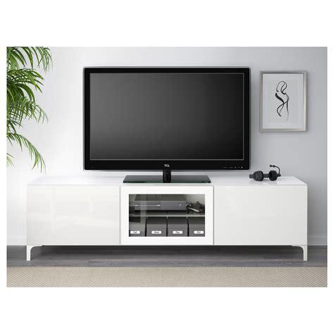 white high gloss tv bench best 197 tv bench with doors white selsviken high gloss white