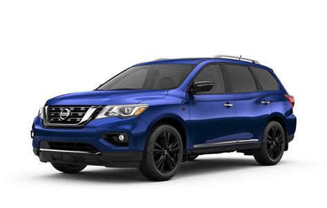 nissan pathfinder midnight edition nissan canada offers pathfinder platinum midnight edition