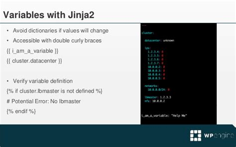jinja2 templates ansible best practices july 30