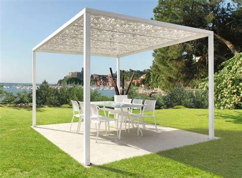 gazebo moderni die besten 25 gartenpavillon metall ideen auf