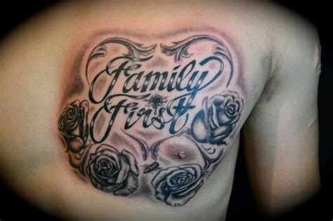 tattoo family word family tattoos designs ideas and meaning tattoos for you