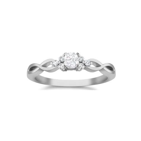 cheap affordable engagement ring jewelocean