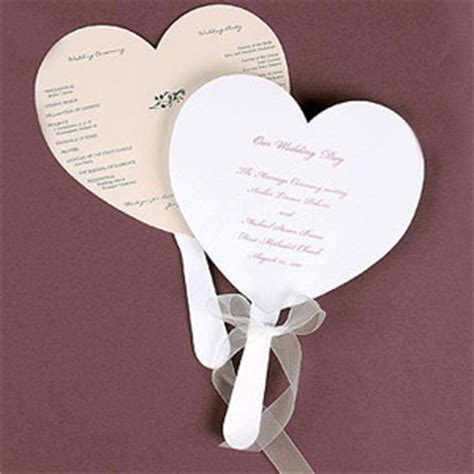 wedding program fans cheap heart shaped program fans 25 pcs wedding programs