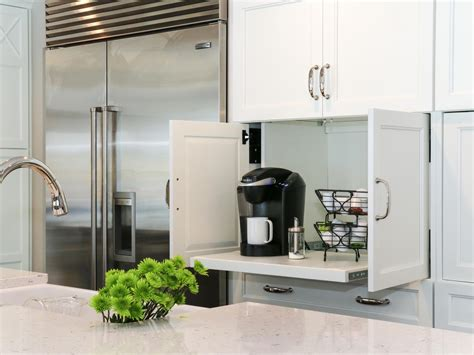 kitchen coffee station cabinet photos hgtv