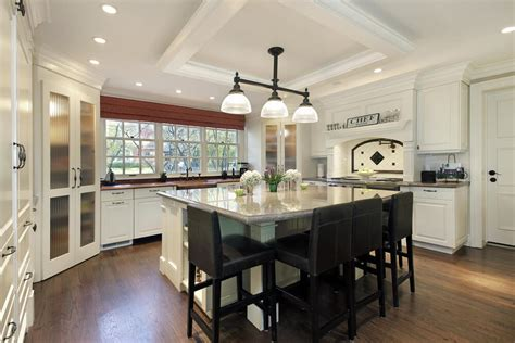 large island kitchens wonderful large square kitchen 64 deluxe custom kitchen island designs beautiful
