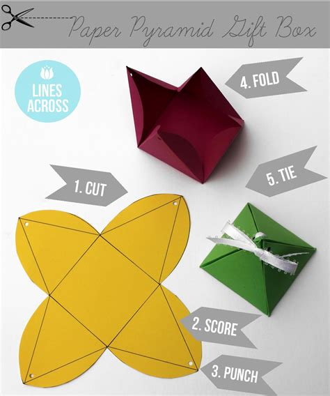 How To Fold A Paper Into 6 Boxes - origami this suitcase shaped paper gift box is simple and