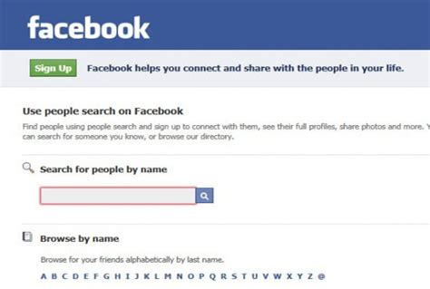Find In Fb 5 Ways To Search For Without Logging In