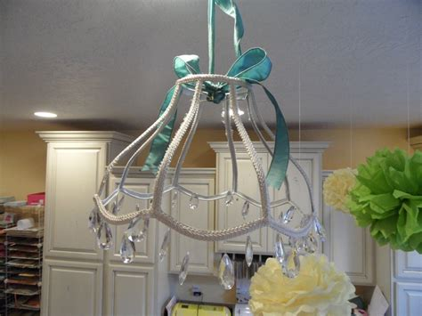 Hobby Lobby Chandelier Sewing Room Made Myself A 20 Chandelier Today With An Lshade And A String Of Crystals