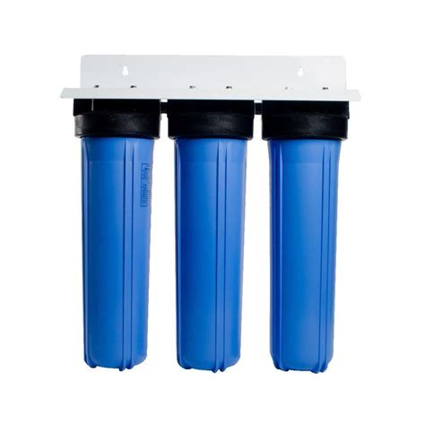 anchor usa 3 stage whole house water filtration system