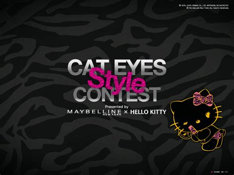 Bm 385 Zunnah 3in1 Pink cat style contest by maybelline new york 215 hello straightline bookmark