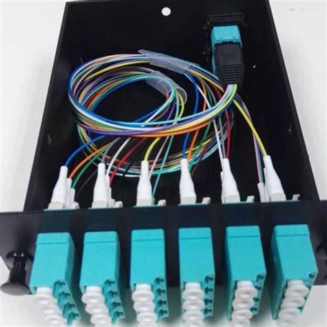 Distro Mu 033 ftth mtp mpo fiber breakout cable module mpo 12 patch cord opticalnetworkcomponents