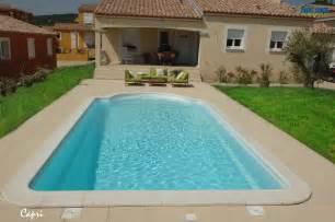 de piscine piscine coque polyester mod 232 le fond inclin 233 avec