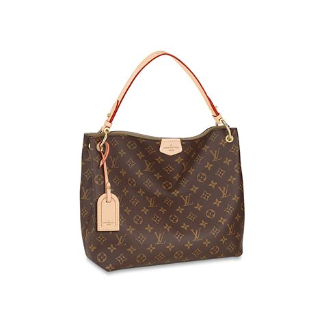 graceful pm monogram canvas handbags louis vuitton