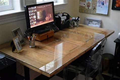 door desk diy door to diy desk hometalk